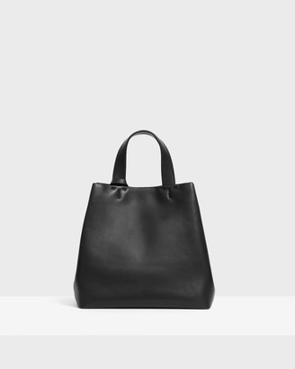 Theory Small Simple Tote in Leather