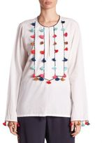 Figue Ziti Embroidered Tunic