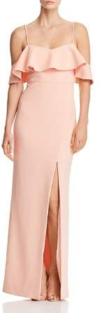 LIKELY Shania Cold-Shoulder Gown