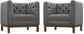 Modway Panache Armchairs (Set of 2)