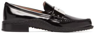 Tod's Gommini Metal-penny Strap Leather Loafers - Womens - Black