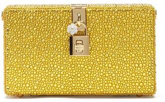 Dolce & Gabbana Crystal-Embellished Clutch