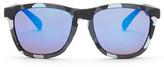 Steve Madden Men&s Plastic Keyhold Retro Square Sunglasses