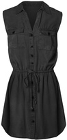 Dex Black Oxford Dress
