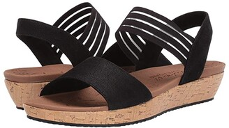 Skechers Brie - Lo'Profile (Black) Women's Sandals