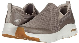 Skechers Arch Fit Banlin (Black/Black) Men's Shoes