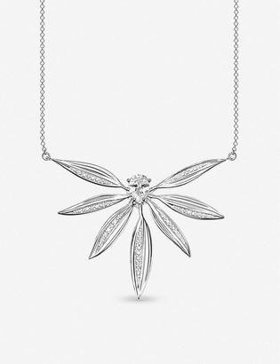 Thomas Sabo Magic Garden sterling silver and zirconia necklace