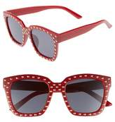 BP Studded Square Sunglasses
