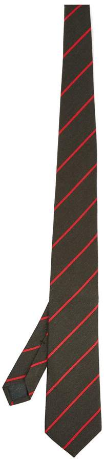 Gucci Striped wool and silk-blend tie