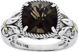 FINE JEWELRY Shey Couture Smoky Quartz Sterling Silver Antiqued Ring