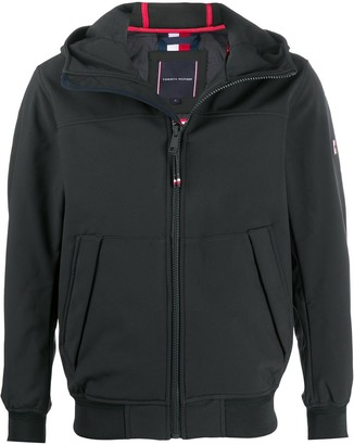 Tommy Hilfiger Zipped Logo Hoodie