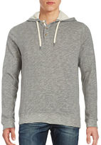 Black Brown 1826 Hooded Knit Shirt