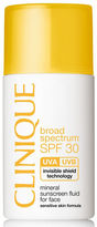 Clinique Mineral Sunscreen Fluid for Face - Broad Spectrum SPF 30