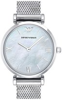 Emporio Armani Mesh Strap Watch, 32mm