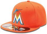 New Era MLB Hat, Miami Marlins On Field 59FIFTY Cap