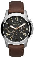 Fossil Chronograph Watch Brown