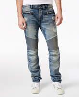 Reason Men's Unisex Causeway Slim-Fit Moto Jeans