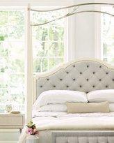 Bernhardt Natalie King Tufted Canopy Bed