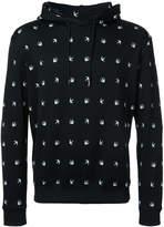 McQ swallow drawstring hoodie