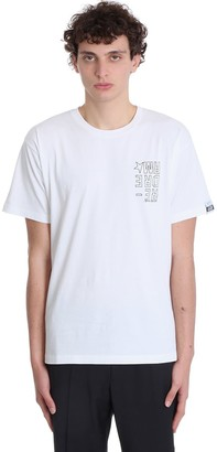 Golden Goose Artur T-shirt In White Cotton