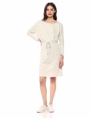 Cupcakes And Cashmere Women's Senna Boatneck French Terry Dress with Slits