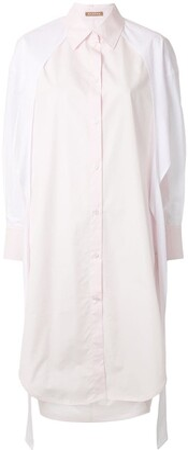 Nehera Dolin panelled shirt dress
