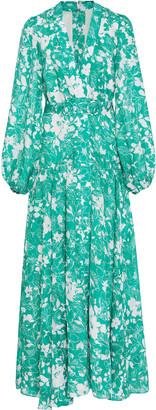 Alexis Kazmera Printed Crepe Dress