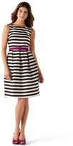 White House Black Market Striped Tank Dress