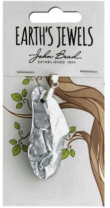 John Bead Corporation John Bead EJ SP Pend 40mm Mineral RkSlv - Medium