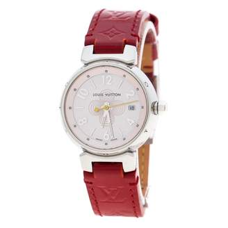 Louis Vuitton Tambour Red Steel Watches