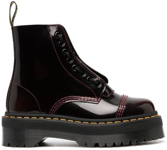 Dr. Martens Gloss Lace-Up Ankle Boots