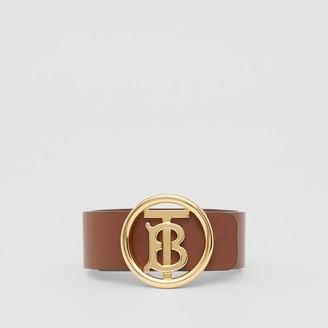 Burberry Monogram Motif Leather Bracelet