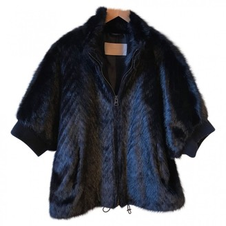 Georges Rech Black Faux fur Coat for Women