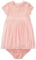 Ralph Lauren Girls' Pleated Dress & Bloomers Set - Baby