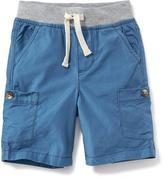 Old Navy Knit-Waist Pull-On Cargo Shorts for Toddler