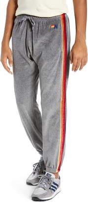 Aviator Nation Classic Velour Sweatpants