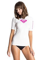 Roxy Women's Whole Hearted Short-Sleeve Rashguard