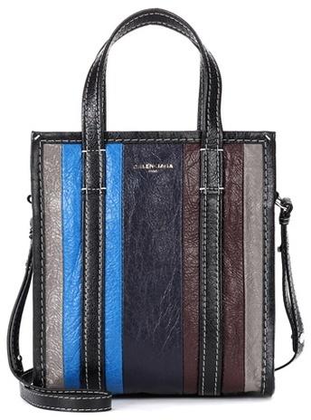 Balenciaga Bazar XS leather shopper