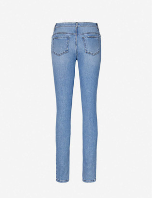 Moschino Skinny high-rise jeans