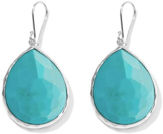 Ippolita large Rock Candy Teardrop turquoise earrings