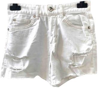 Liu Jo Liu.jo White Cotton Shorts for Women