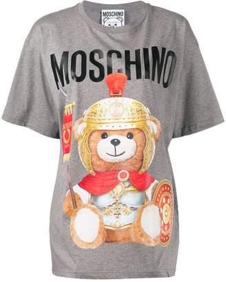 Moschino teddy bear logo print T-shirt