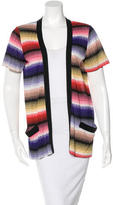 Missoni Patterned Open Front Cardigan