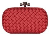 Bottega Veneta Intrecciato Ayers Trim Satin Knot Clutch