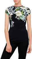Ted Baker Veeni Gem Garden Fitted Tee