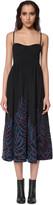 Mara Hoffman Embroidered Bustier Midi Dress