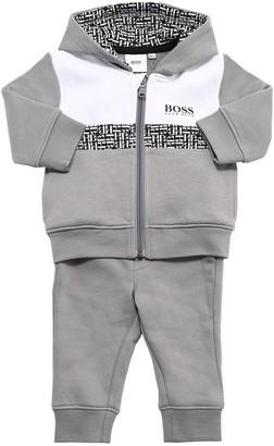 HUGO BOSS Nylon Zip-Up Sweatshirt & Sweatpants