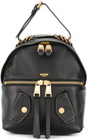 Moschino leather biker backpack - women - Leather - One Size