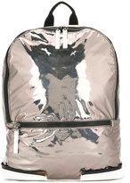 Maison Margiela large zip backpack - men - Calf Leather/Polyamide/Polyurethane - One Size