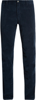 J.w.brine J.W. BRINE Owen slim-leg stretch-cotton corduroy trousers